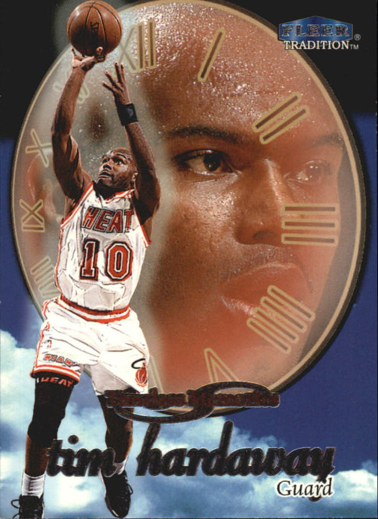 1998-99 Fleer Timeless Memories #5 Tim Hardaway