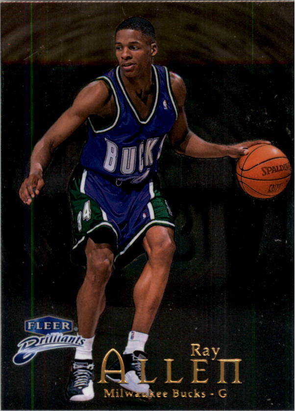 1998-99 Fleer Brilliants #6 Ray Allen