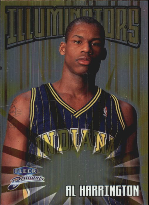 1998-99 Fleer Brilliants Illuminators #15 Al Harrington