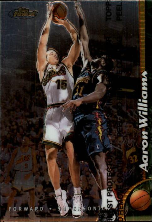 1998-99 Finest #189 Aaron Williams