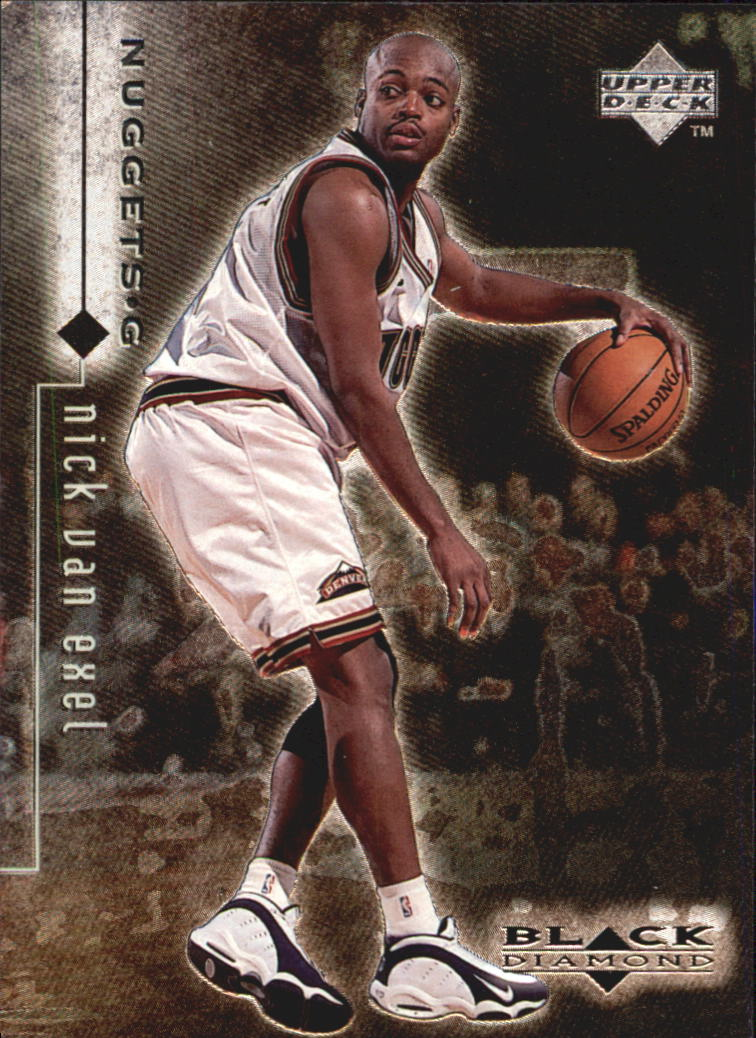 1998-99 Black Diamond #30 Nick Van Exel