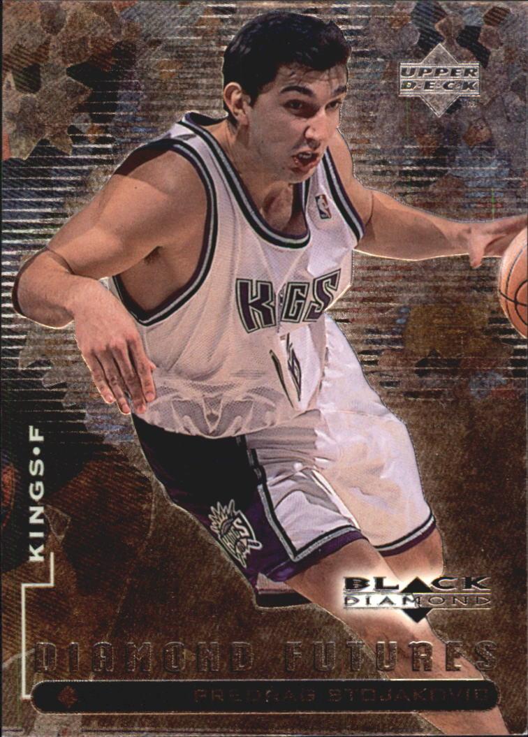 178d956706ac 1998-99 Black Diamond  106 Peja Stojakovic RC