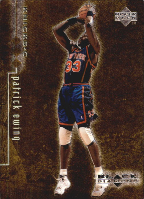 1998-99 Black Diamond Triple Diamond #61 Patrick Ewing