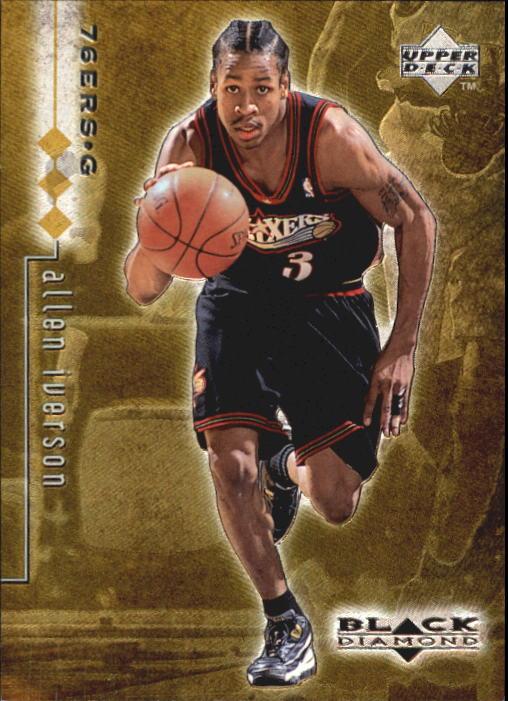 1998-99 Black Diamond Triple Diamond #66 Allen Iverson