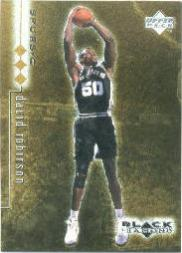 1998-99 Black Diamond Triple Diamond #77 David Robinson