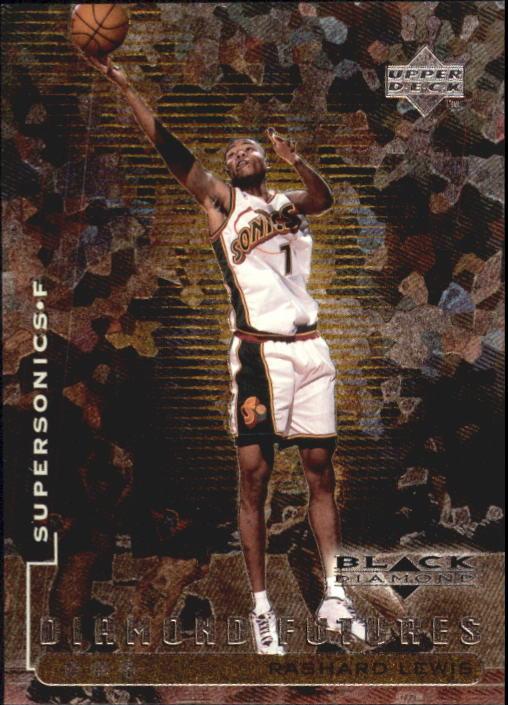 1998-99 Black Diamond Triple Diamond #100 Rashard Lewis