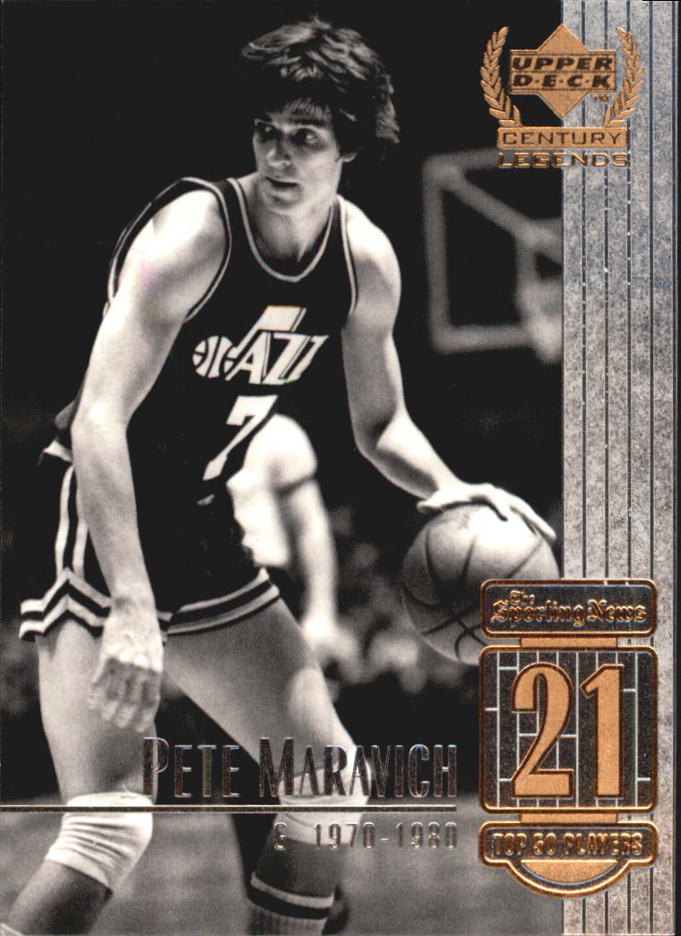 1999 Upper Deck Century Legends #21 Pete Maravich