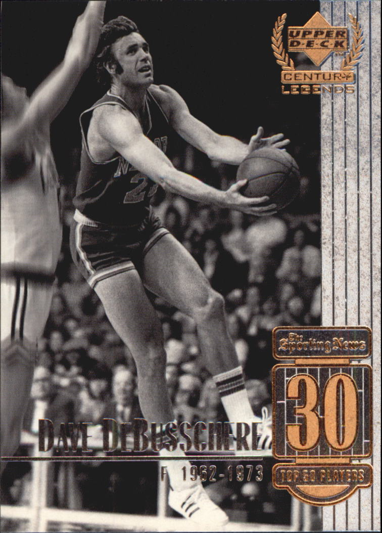1999 Upper Deck Century Legends #30 Dave DeBusschere