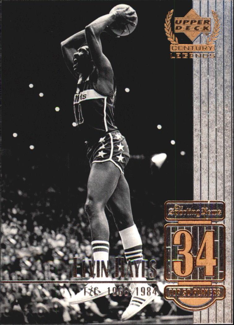 1999 Upper Deck Century Legends #34 Elvin Hayes