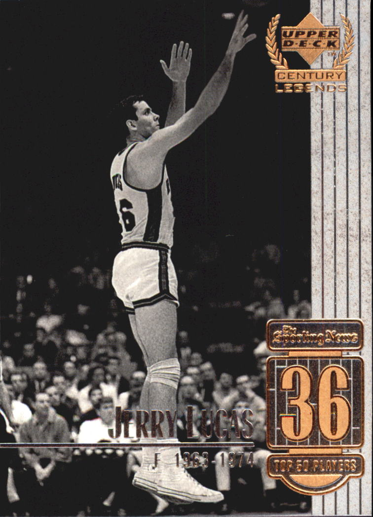 1999 Upper Deck Century Legends #36 Jerry Lucas