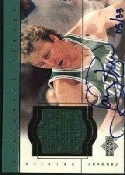 1999 Upper Deck Century Legends Epic Signatures Century #LB Larry Bird/33