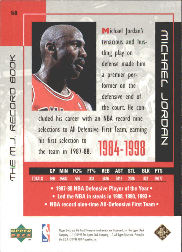 michael jordan career records - photo #19