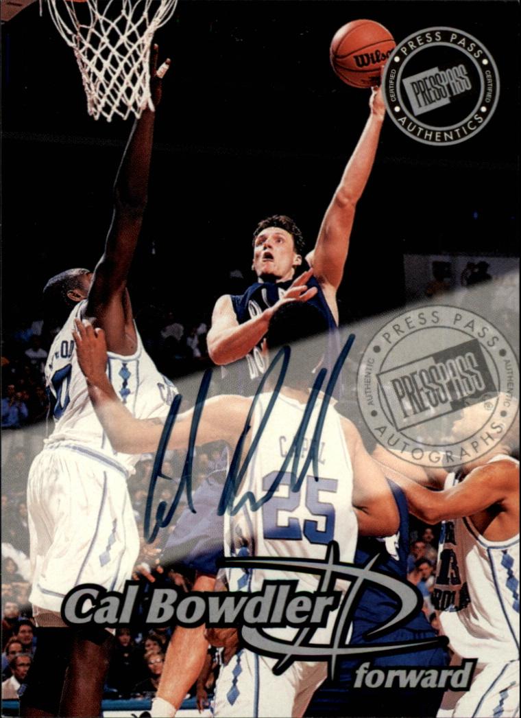 1999 Press Pass Autographs #13 Cal Bowdler