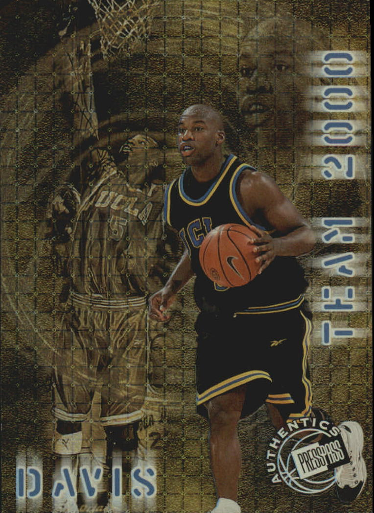 1999 Press Pass Authentics Team 2000 #T3 Baron Davis
