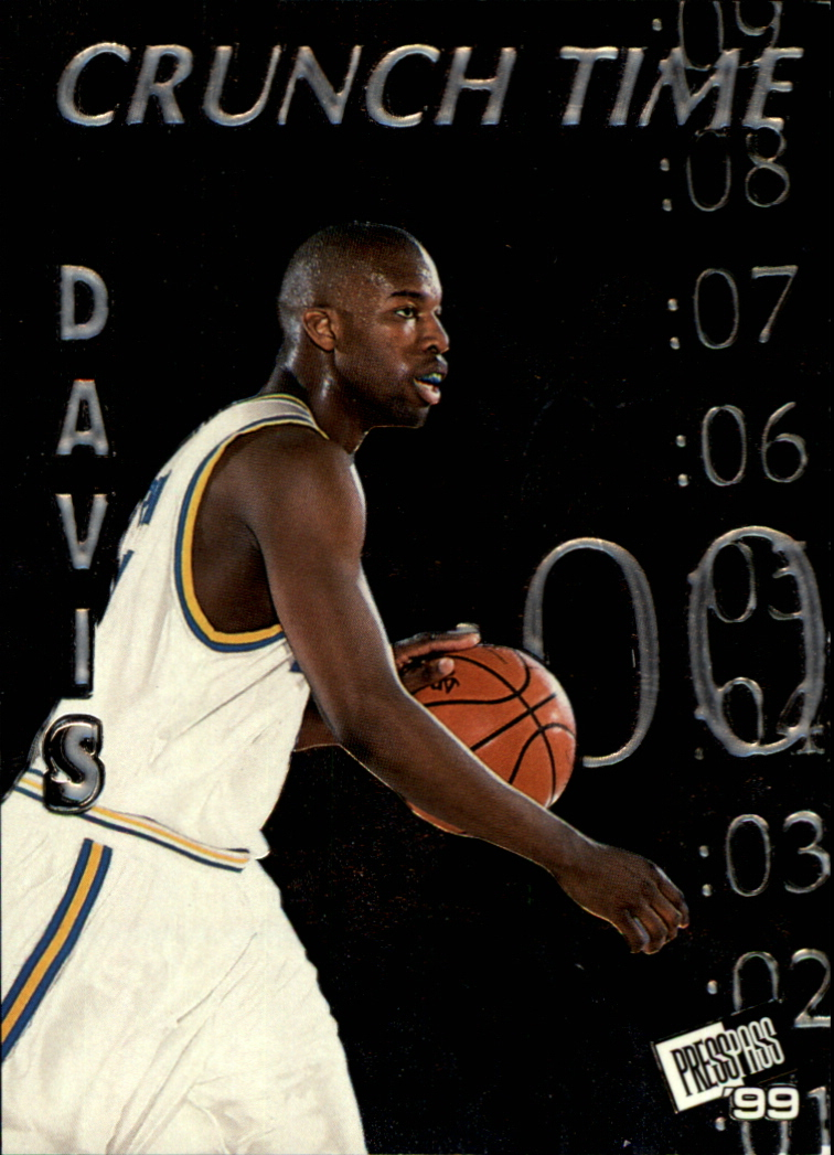 1999 Press Pass Crunch Time #CT3 Baron Davis