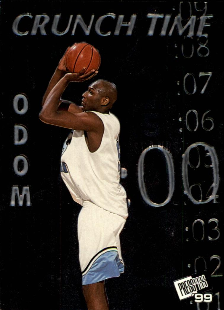 1999 Press Pass Crunch Time #CT4 Lamar Odom