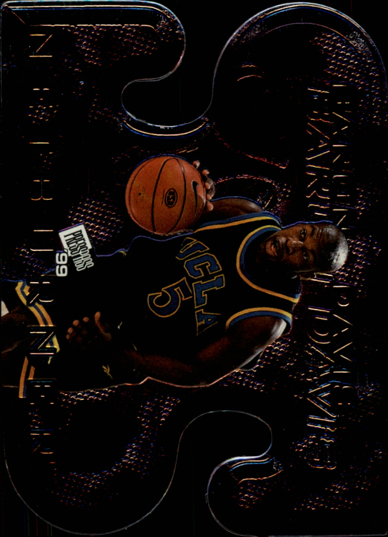 1999 Press Pass Net Burners #NB3 Baron Davis