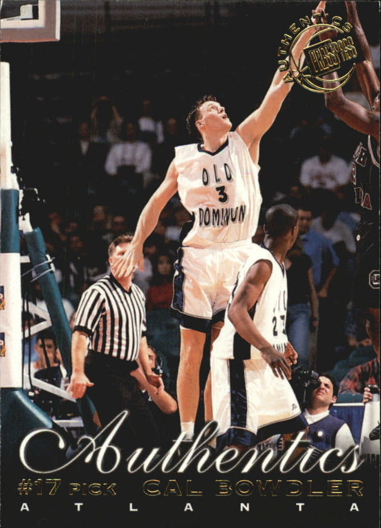 1999 Press Pass Authentics #13 Cal Bowdler