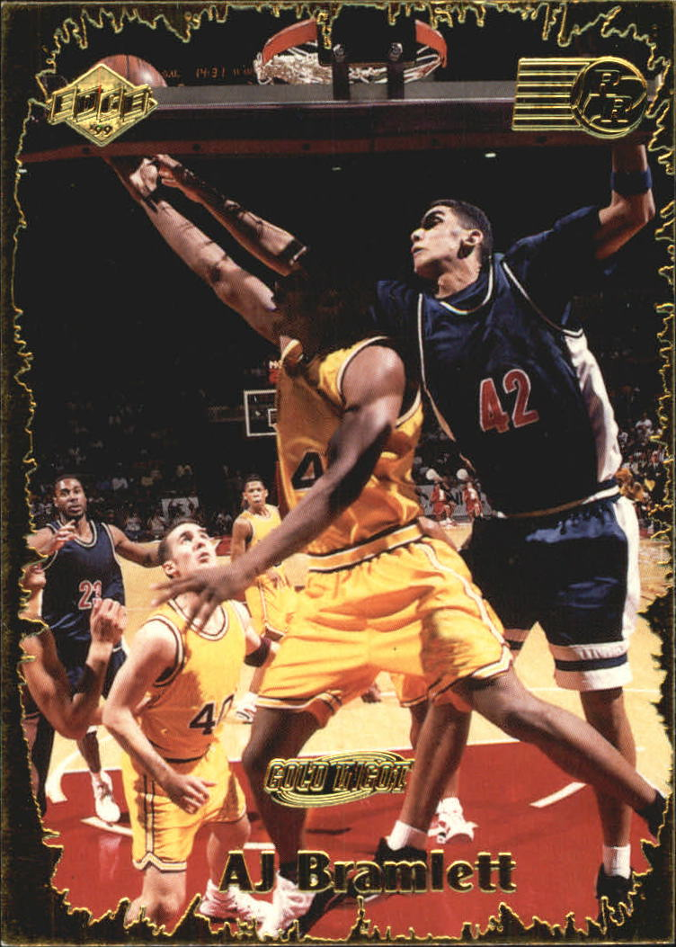1999 Collector's Edge Rookie Rage Gold #8 A.J. Bramlett