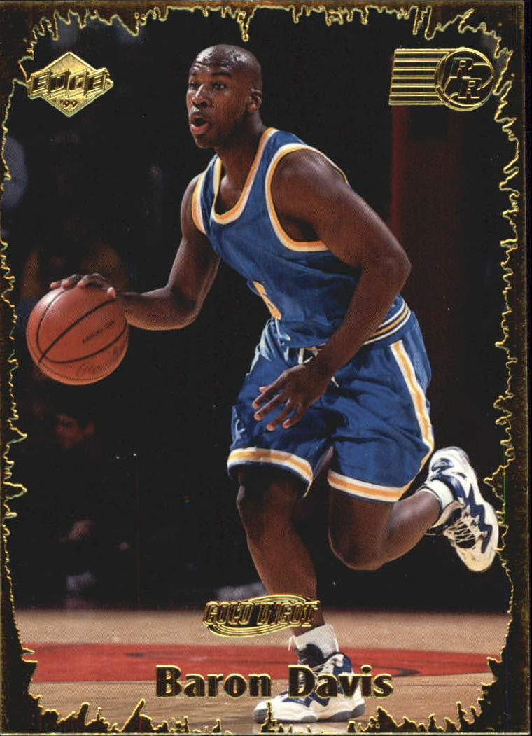 1999 Collector's Edge Rookie Rage Gold #14 Baron Davis