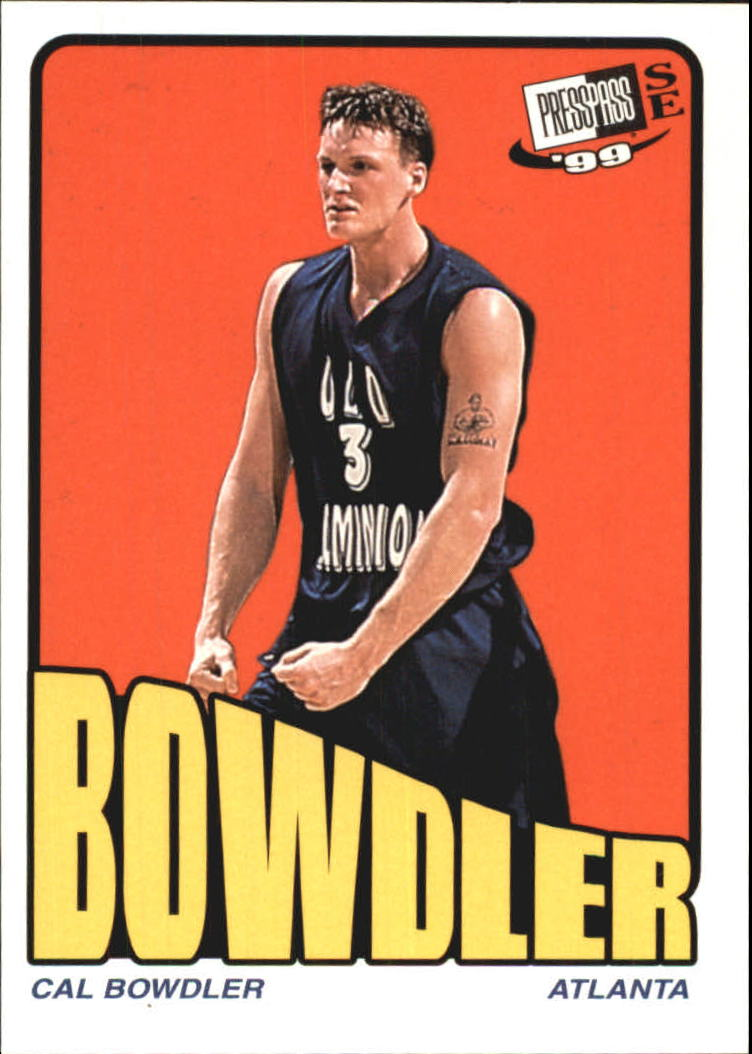 1999 Press Pass SE Old School #13 Cal Bowdler