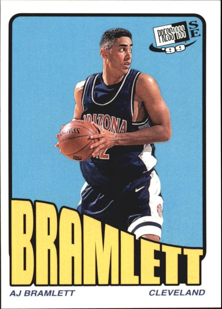 1999 Press Pass SE Old School #28 A.J. Bramlett