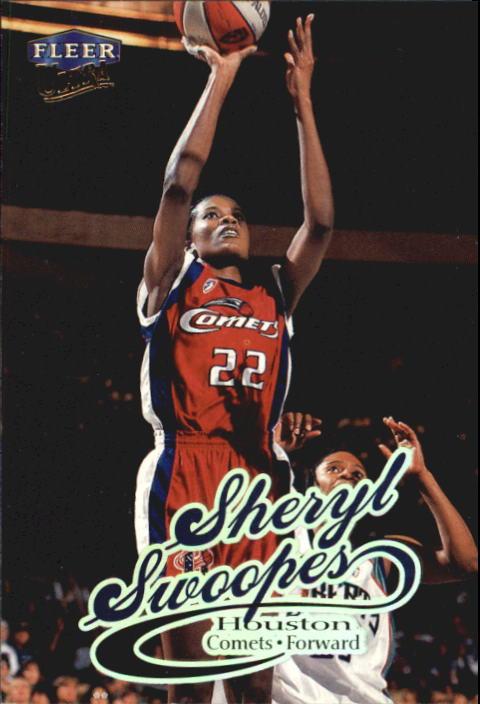 1999 Ultra WNBA #1 Sheryl Swoopes