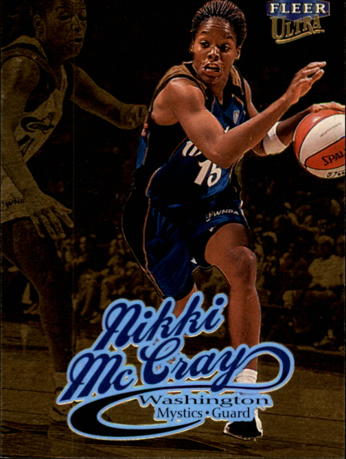 1999 Ultra WNBA #3 Nikki McCray