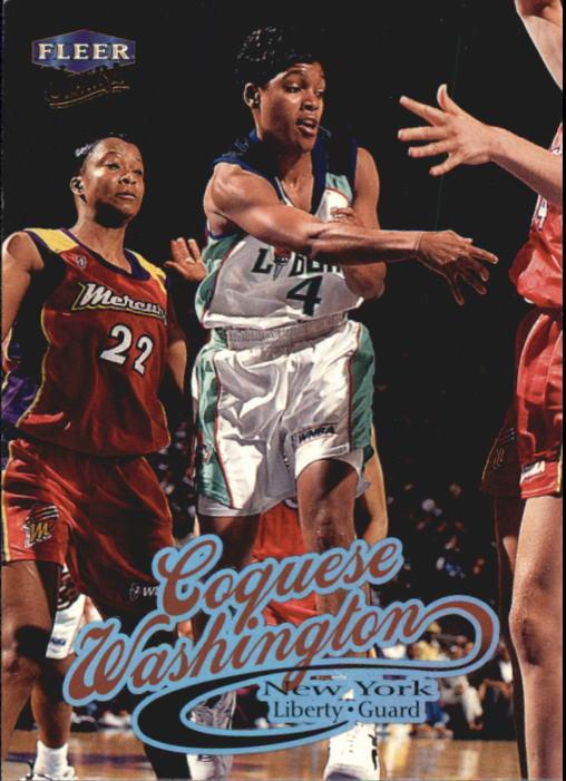 1999 Ultra WNBA #4 Coquese Washington RC