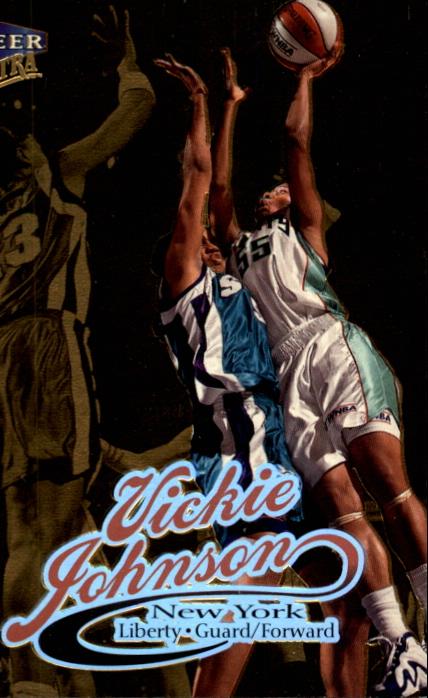 1999 Ultra WNBA #5 Vickie Johnson
