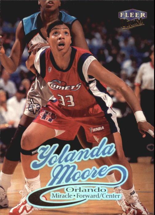 1999 Ultra WNBA #10 Yolanda Moore
