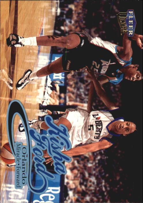 1999 Ultra WNBA #12 Kisha Ford