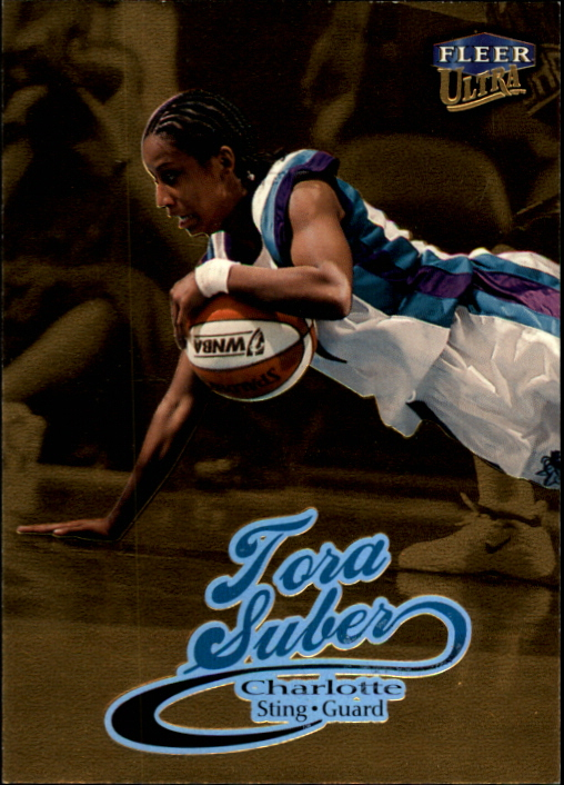 1999 Ultra WNBA #15 Tora Suber