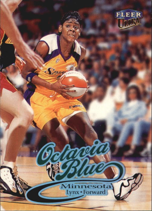 1999 Ultra WNBA #16 Octavia Blue RC