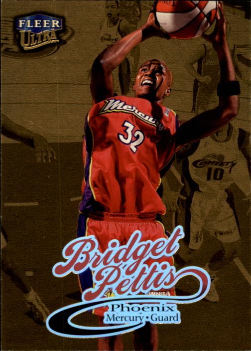 1999 Ultra WNBA #17 Bridget Pettis