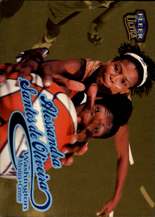 1999 Ultra WNBA #19 Alessandra Santos de Oliveria RC