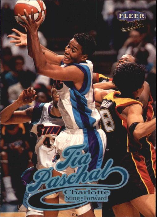 1999 Ultra WNBA #20 Tia Paschal RC