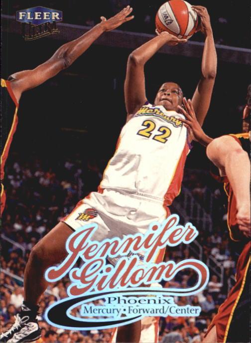 1999 Ultra WNBA #21 Jennifer Gillom