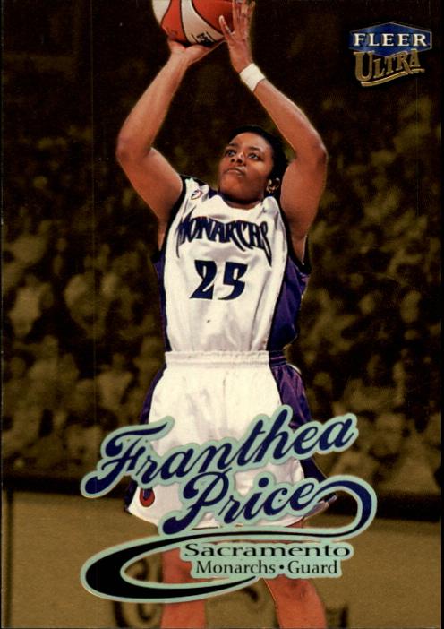 1999 Ultra WNBA #23 Franthea Price RC