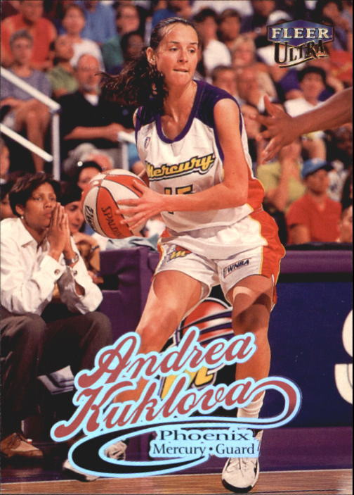 1999 Ultra WNBA #24 Andrea Kuklova
