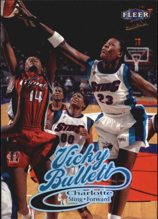 1999 Ultra WNBA #25 Vicky Bullett