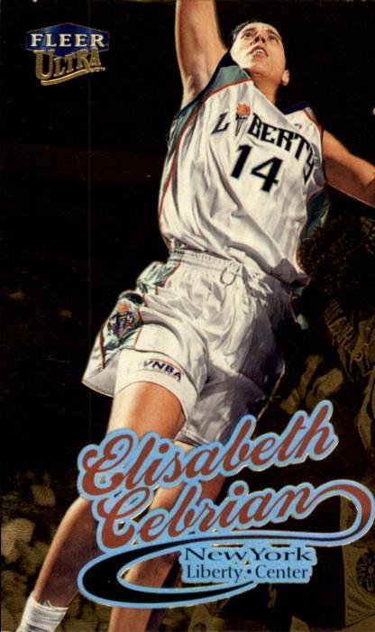 1999 Ultra WNBA #30 Elisabeth Cebrian RC
