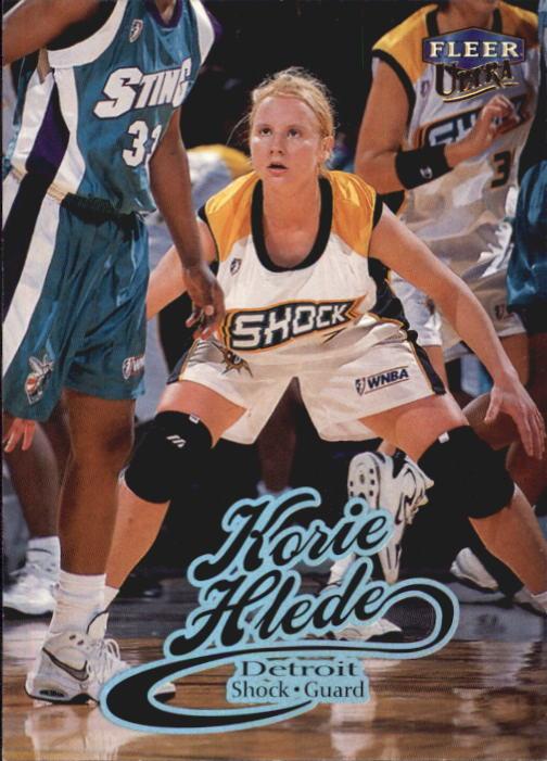 1999 Ultra WNBA #33 Korie Hlede RC