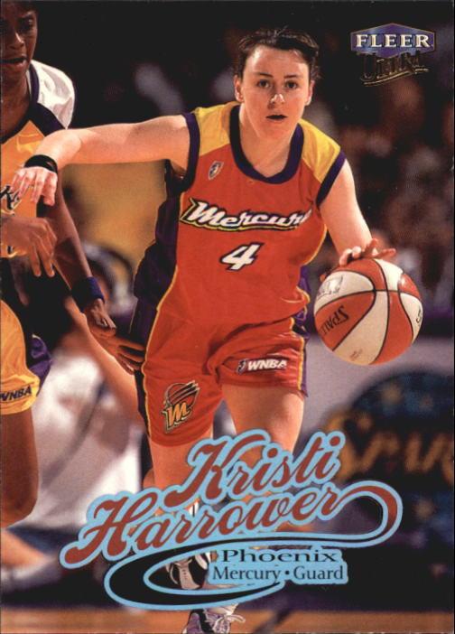 1999 Ultra WNBA #35 Kristie Harrower RC