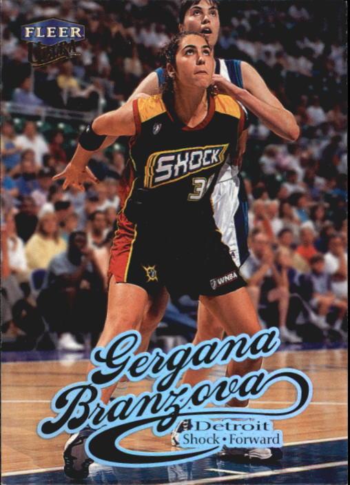 1999 Ultra WNBA #37 Gergana Branzova RC