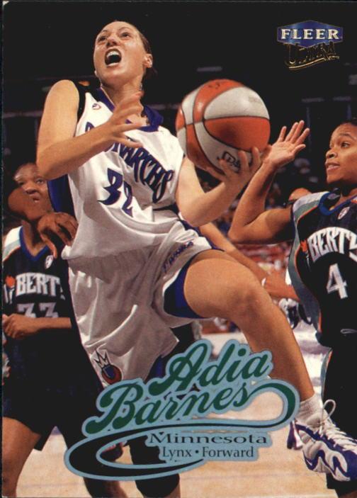 1999 Ultra WNBA #46 Adia Barnes RC