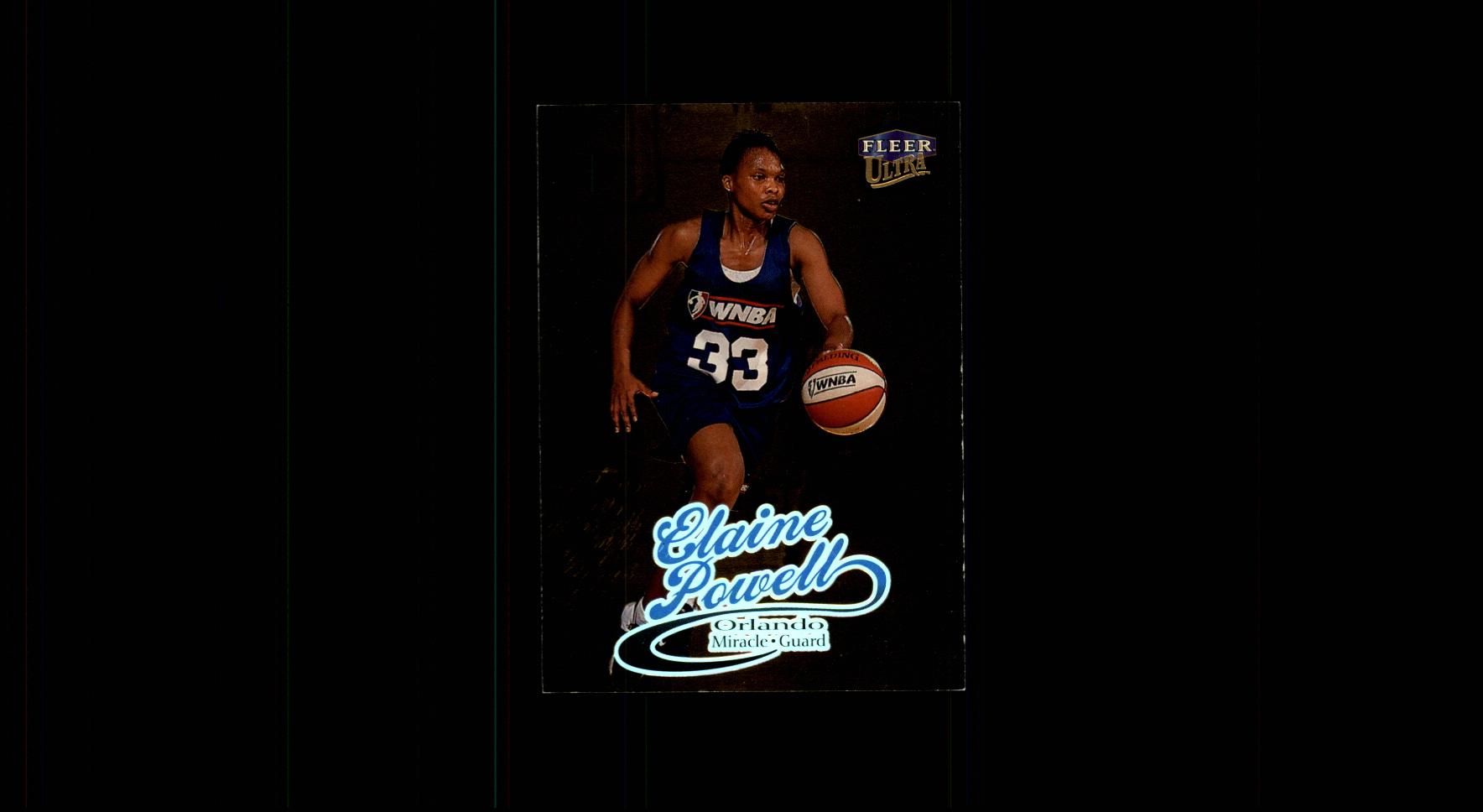 1999 Ultra WNBA #47 Elaine Powell RC
