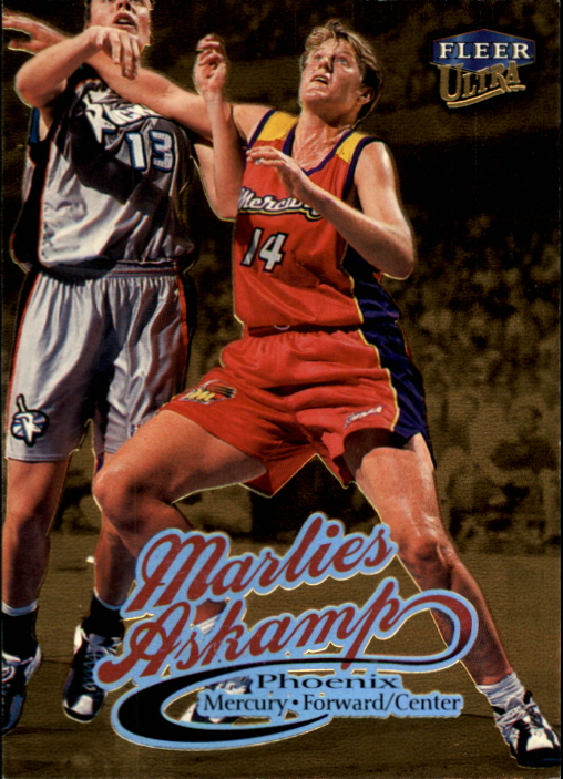 1999 Ultra WNBA #50 Marlies Askamp RC