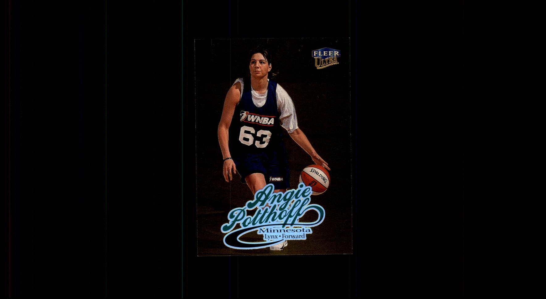 1999 Ultra WNBA #59 Angie Potthoff RC