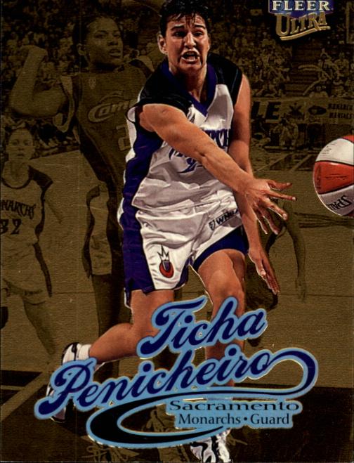 1999 Ultra WNBA #62 Ticha Penicheiro RC